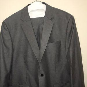 Charcoal grey pinstripe Michael Kors Suit